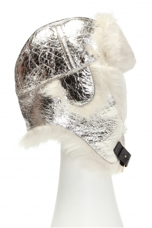 Fur hat od Yves Salomon