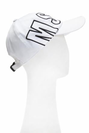 Cap with embroidered logo od MSGM