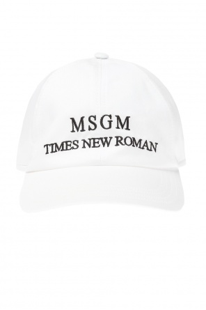 Baseball cap with logo od MSGM