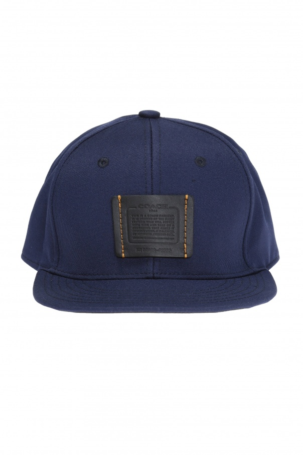 Patched baseball cap od Coach
