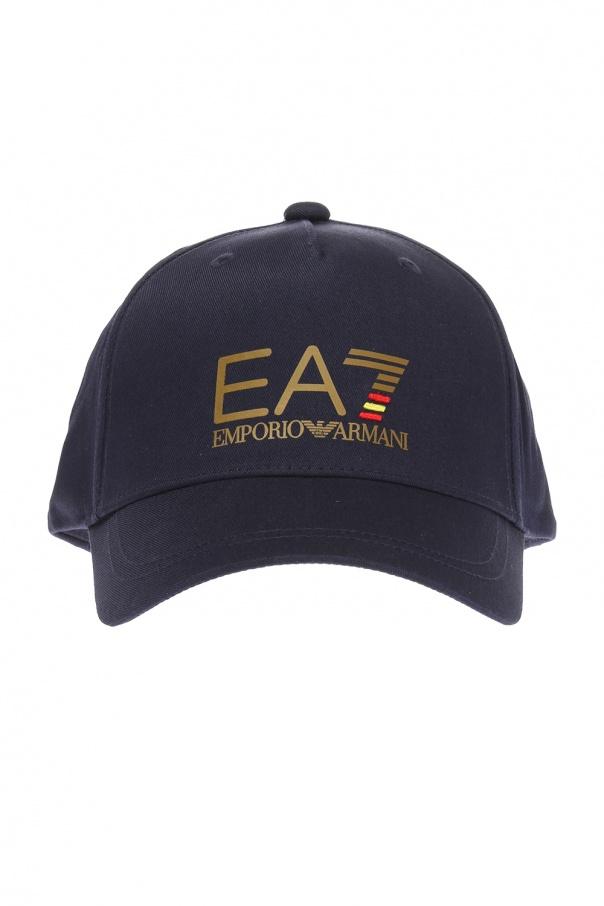 076b2611 Baseball cap with logo EA7 Emporio Armani - Vitkac shop online