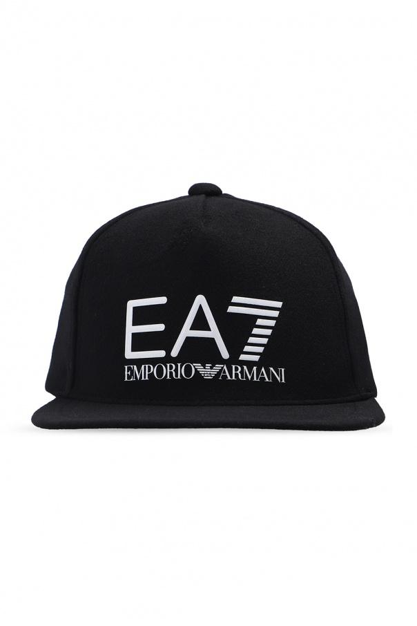 EA7 Emporio Armani Czapka z daszkiem z logo