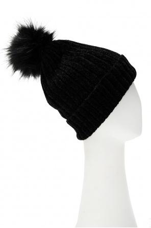 Hat with pom-pom od EA7 Emporio Armani