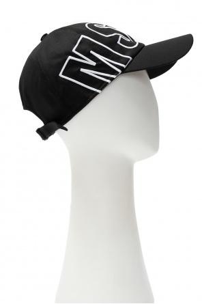 Baseball cap with logo od MSGM