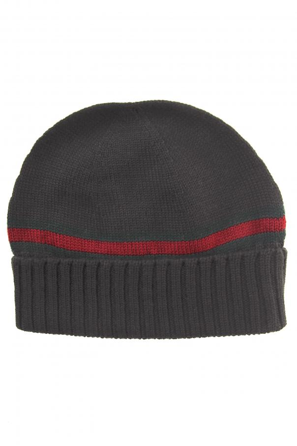 Wool  Web  Stripe Hat Gucci - Vitkac shop online 7b61ae9b5c2a