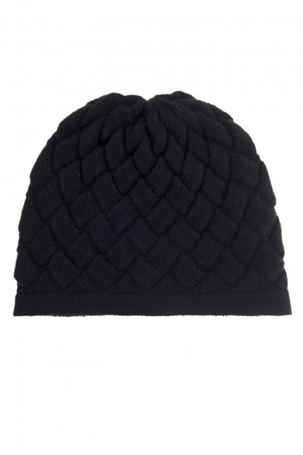 a5d20811c5afd Woven Wool Hat Bottega Veneta - Vitkac shop online