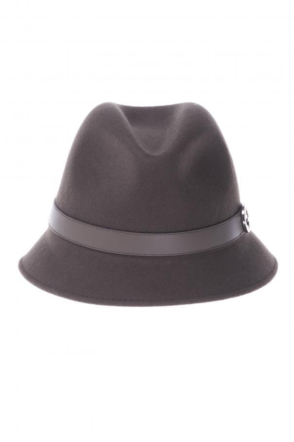 d24a96303c5a4 Narrow Brim Hat Gucci - Vitkac shop online