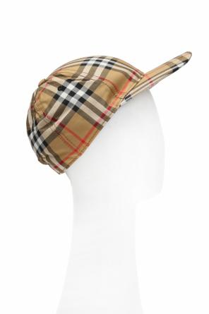 Checked baseball cap od Burberry
