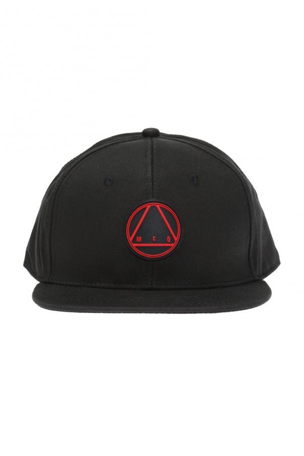 b9b25116bbf Baseball cap with rubber logo McQ Alexander McQueen - Vitkac shop online