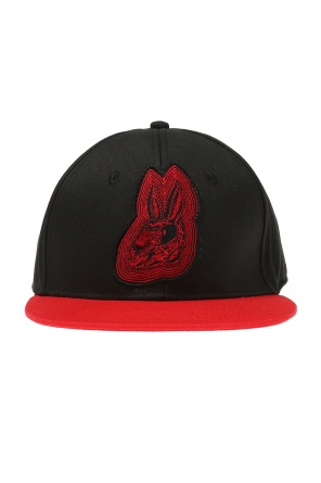 Patched baseball cap od McQ Alexander McQueen