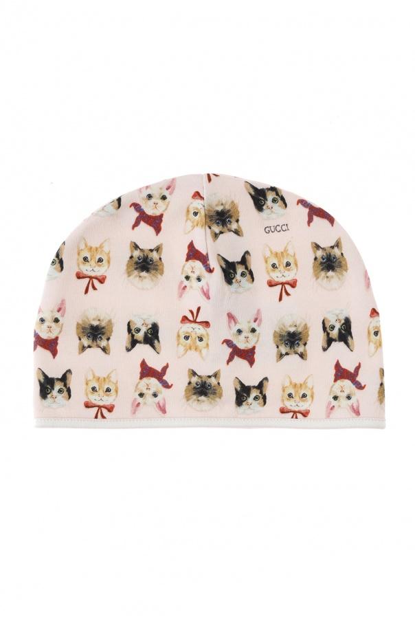 Patterned hat Gucci Kids - Vitkac shop online c1a92ce42157