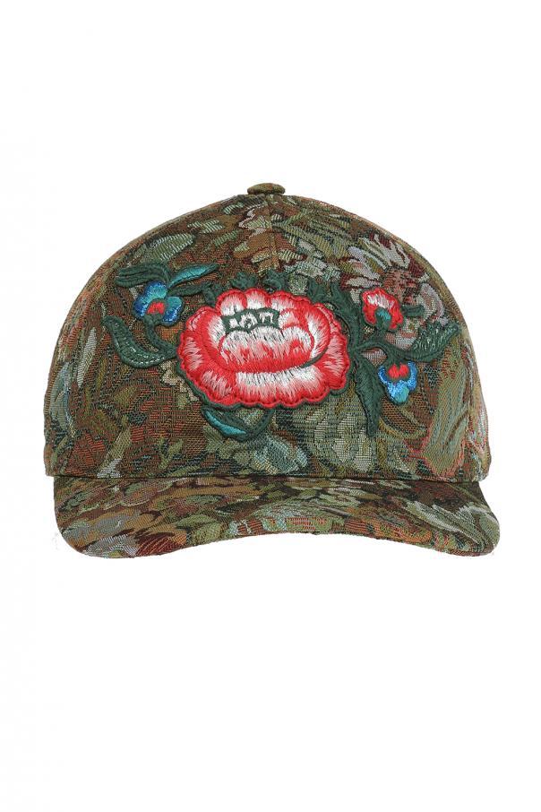 Floral  printed baseball cap Gucci - Vitkac shop online ef8c4d9a13f3