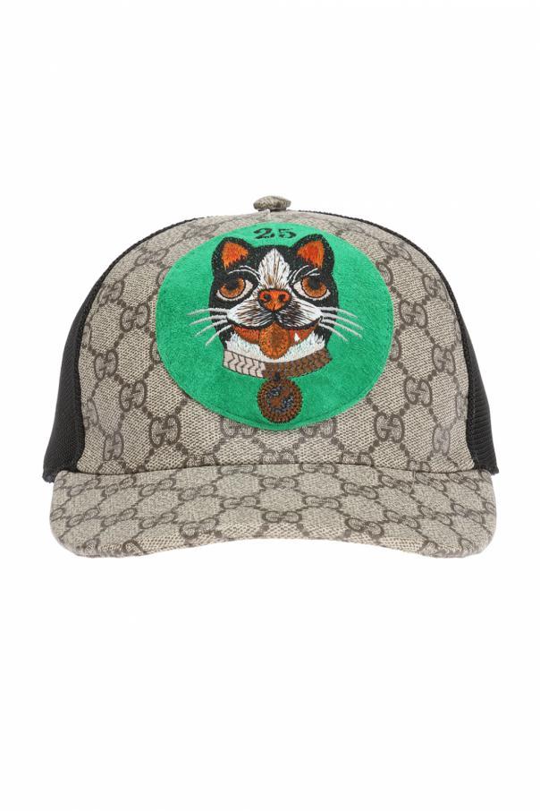 Patched baseball cap Gucci - Vitkac shop online 2bb7c671b68