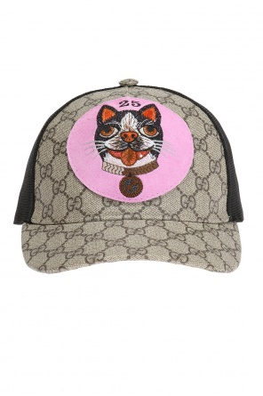 Patched baseball cap od Gucci