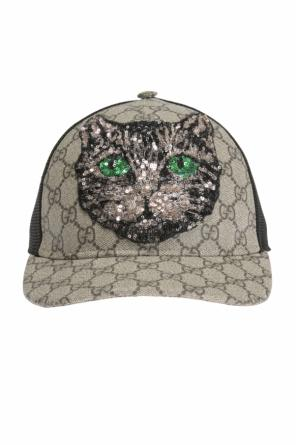 Sequinned baseball cap od Gucci