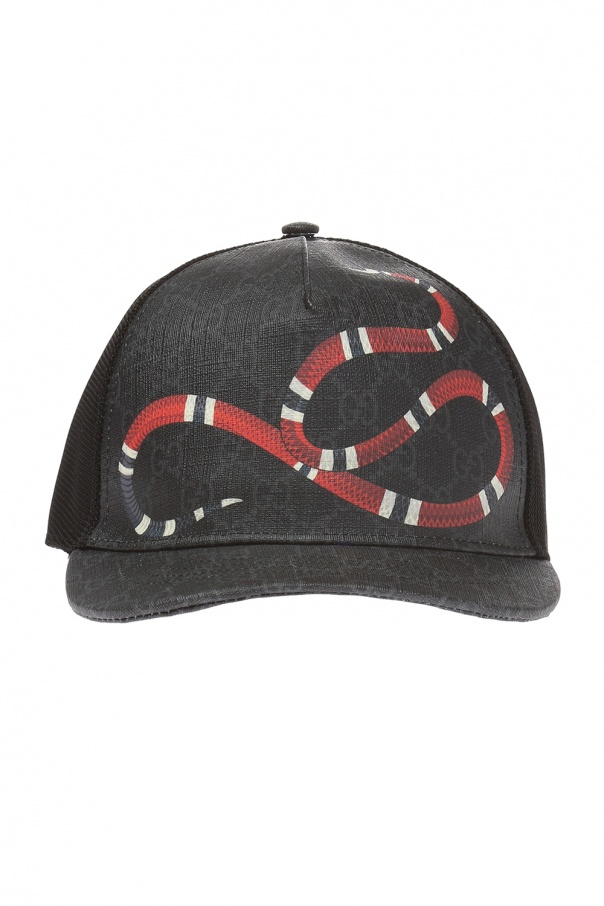 Gucci Baseball cap made of  'GG SUPREME' canvas