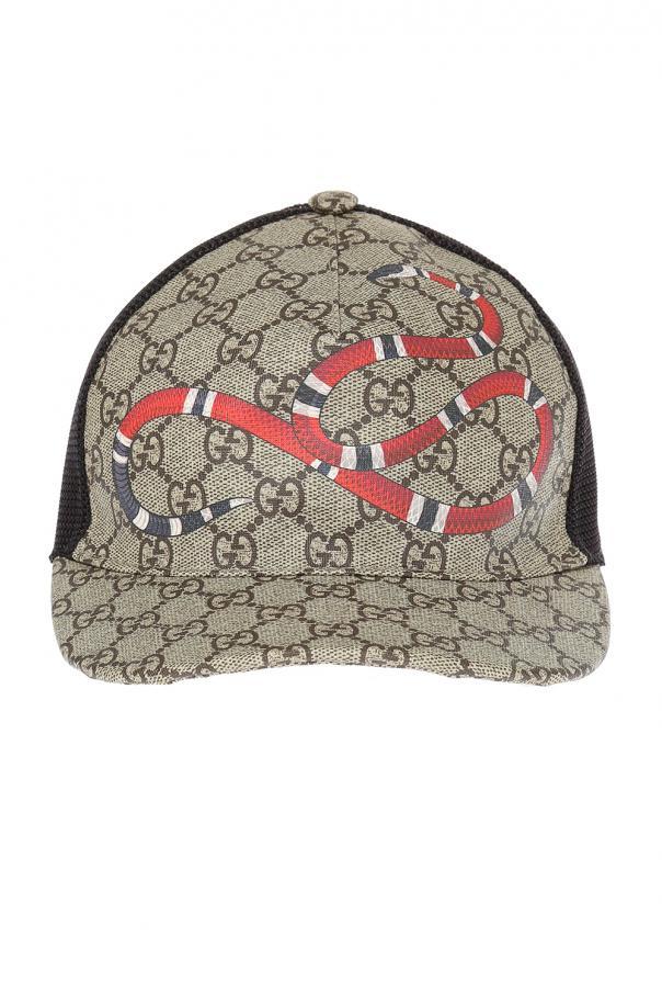 0f42ce14 Printed baseball cap Gucci - Vitkac shop online