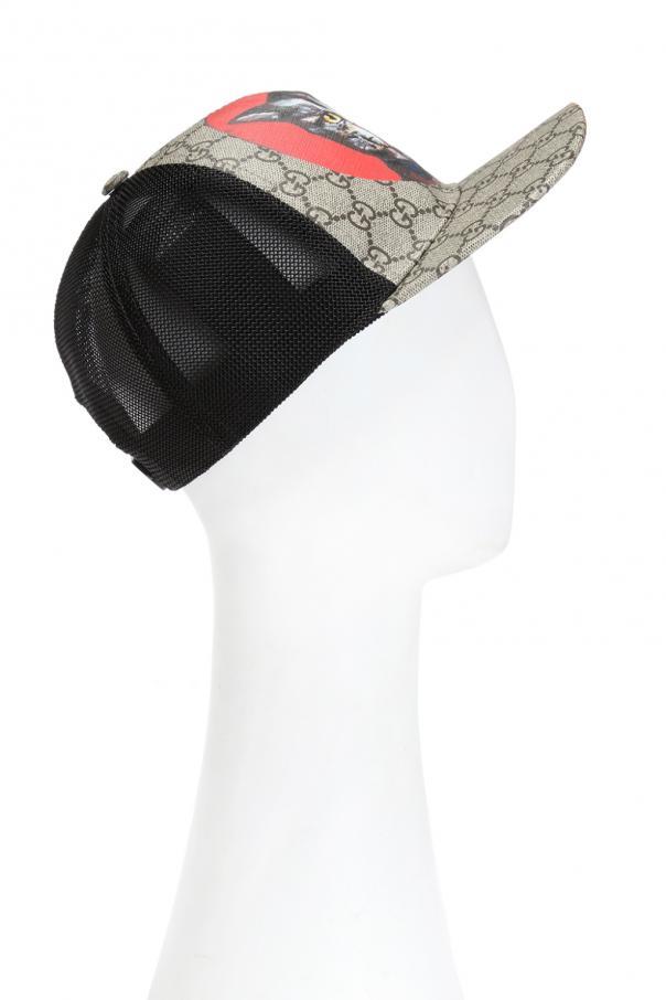8ba40a28 Cat motif baseball cap Gucci - Vitkac shop online