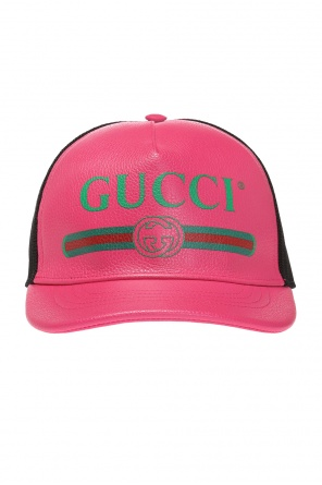 Baseball cap with 'web' stripe od Gucci
