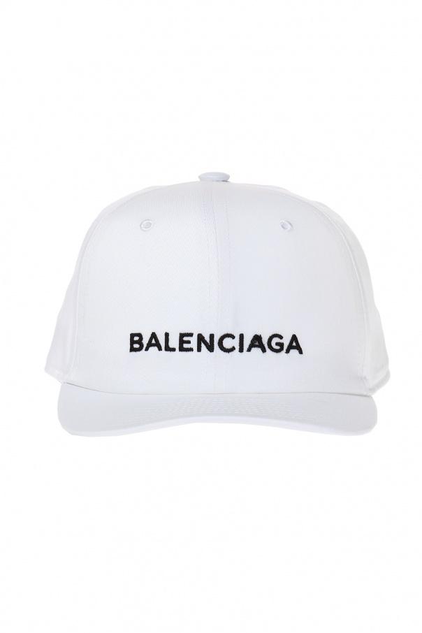 971e1474 Logo-embroidered baseball cap Balenciaga - Vitkac shop online