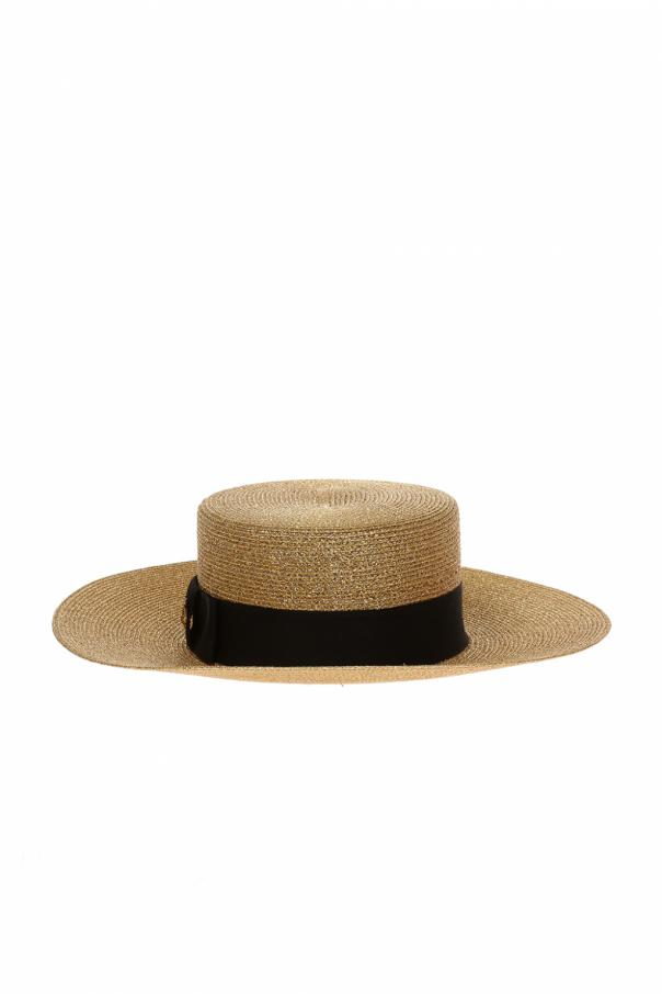 Gucci Grosgrain band hat