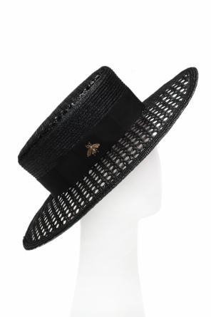 38465f555a252 Bee motif hat od Gucci ...