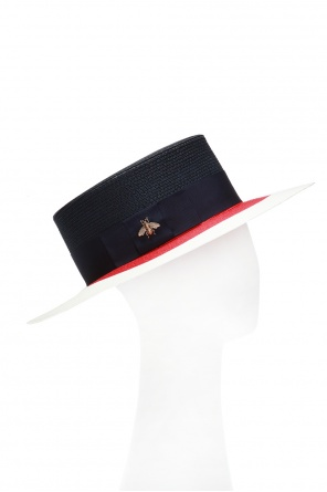 6e8c95954f741 Hat with grosgrain band od Gucci ...