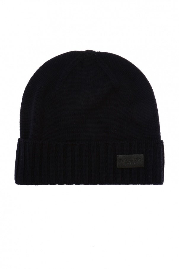 Logo hat Saint Laurent - Vitkac shop online 42ee28f327b