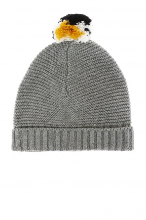 Decorative pompom hat od Stella McCartney Kids
