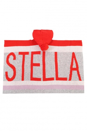 Ponczo z kapturem od Stella McCartney Kids