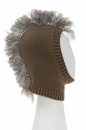 Balaclava with fringes od Stella McCartney Kids
