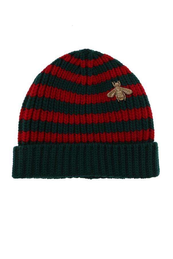 eaf1588d5cb91 Striped hat Gucci - Vitkac shop online
