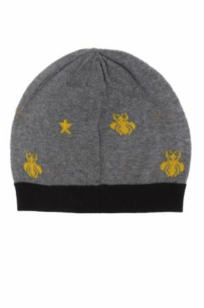Bee motif hat od Gucci Kids