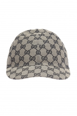 Logo-embroidered baseball cap od Gucci Kids