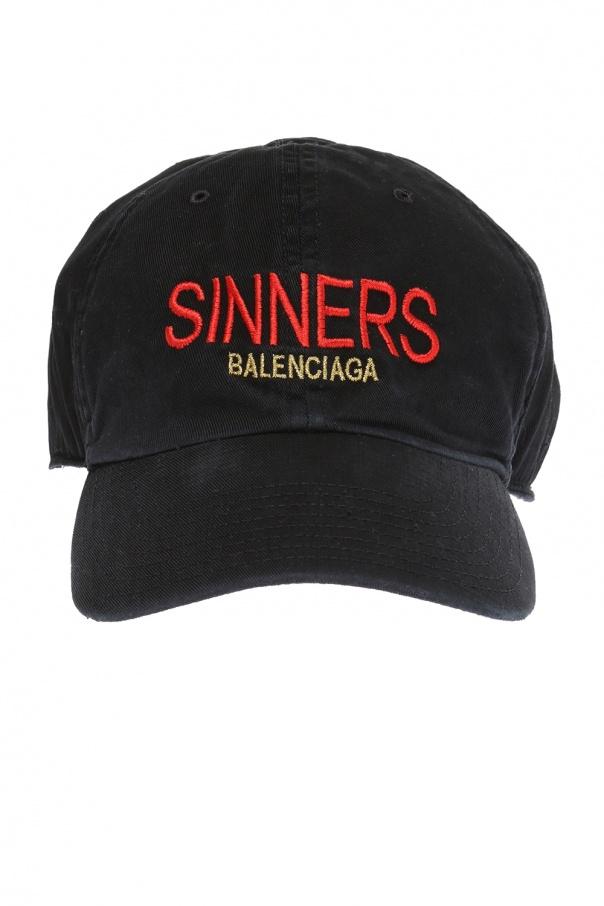 1e83ad1fc7ad0 Logo baseball cap Balenciaga - Vitkac shop online