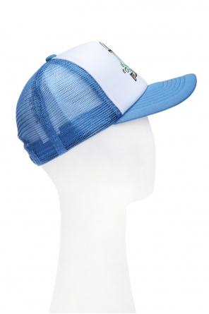 Mesh-trimmed baseball cap od Stella McCartney Kids