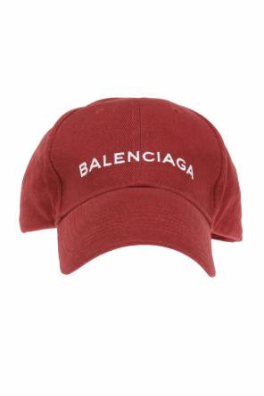 Logo-embroidered baseball cap od Balenciaga