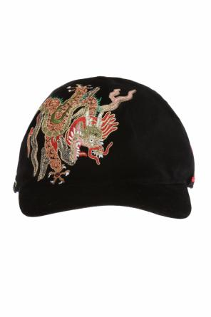 Cap with embroidered pattern od Gucci