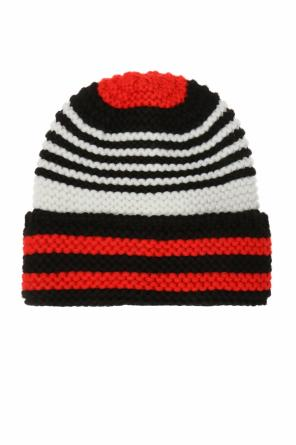 Woven hat with stripes od Sonia Rykiel