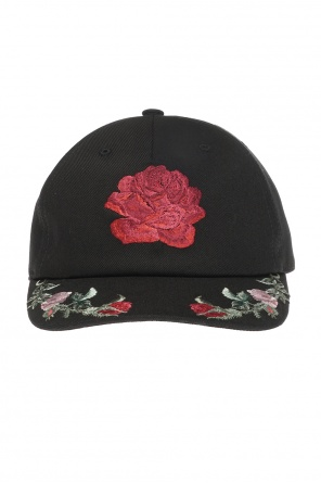 Embroidered baseball cap od Alexander McQueen