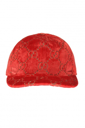 Embroidered baseball cap od Gucci