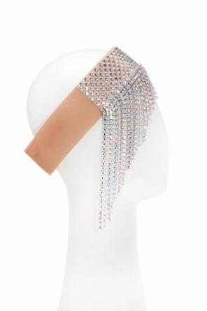 Headband with swarovski crystals od Gucci