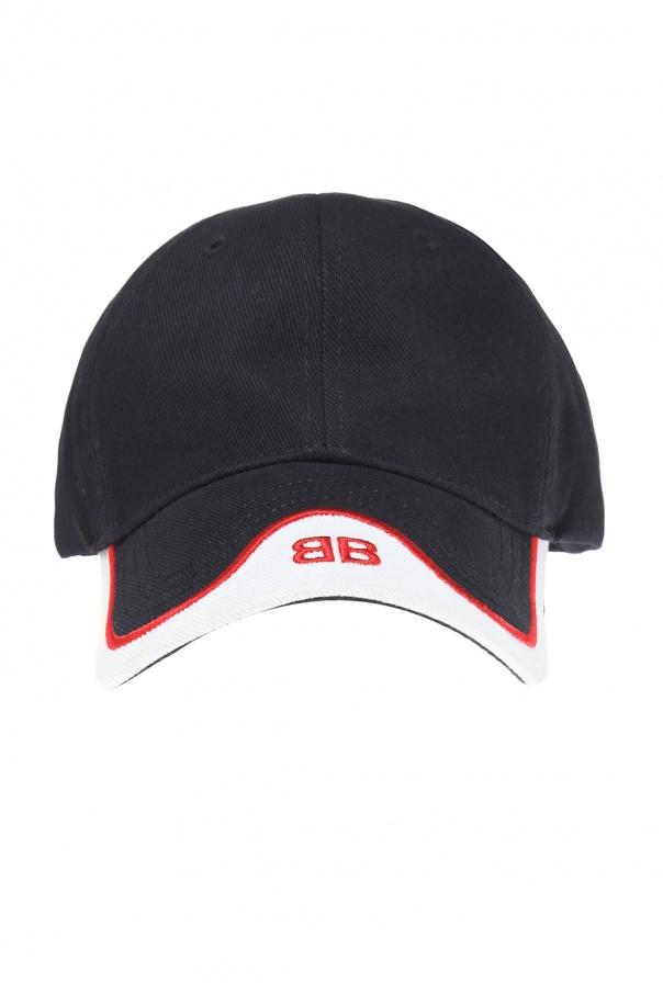 856babee325 Logo-embroidered baseball cap Balenciaga - Vitkac shop online