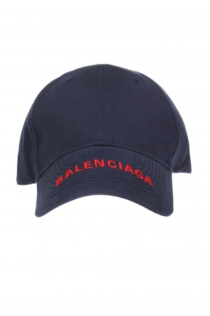 Baseball cap with a logo od Balenciaga