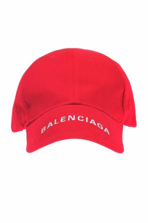 Baseball cap with an embroidered logo od Balenciaga
