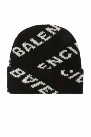 Hat with an embroidered logo od Balenciaga