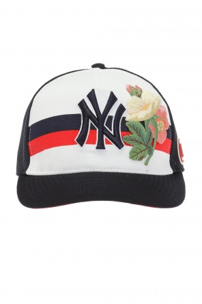 Baseball cap with applications od Gucci