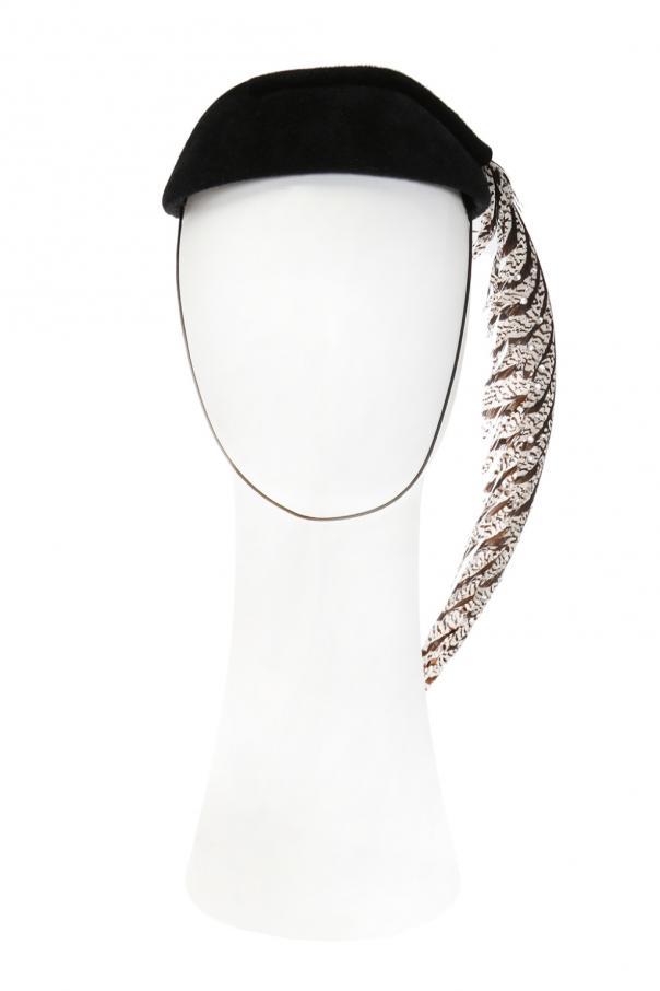 4f4b0c13 Feather detail hat Gucci - Vitkac shop online
