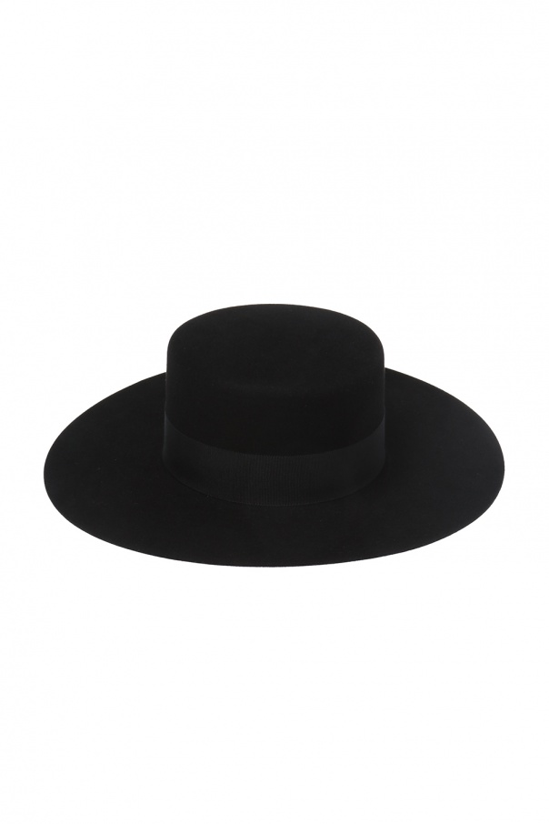 Saint Laurent Hat with grosgrain band