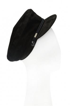c53f48e3aa5 Baseball cap with decorative appliqué od Saint Laurent ...